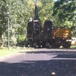 Town trucks in Greenlawn