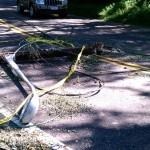 More wires down on Old Field Rd