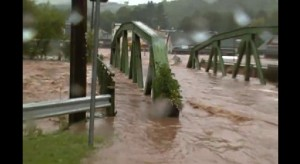 Margaretville, NY town in massive flood