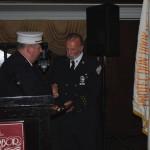 Hose Company #1 gives award to Douglas