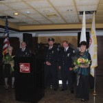 Firefighters with their Wives