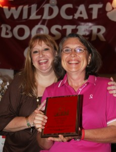 Booster of the Year Deb Kaden