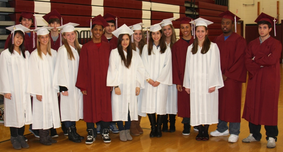 Whitman\'s Seniors Choose Biodegradable Graduation Gowns | The ...