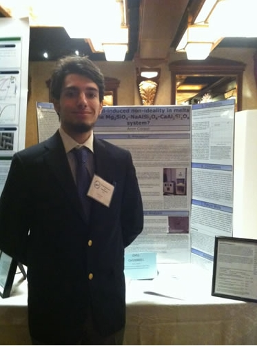 Aron Coraro won the Yale Science and Engineering Award at the LISEF finals.