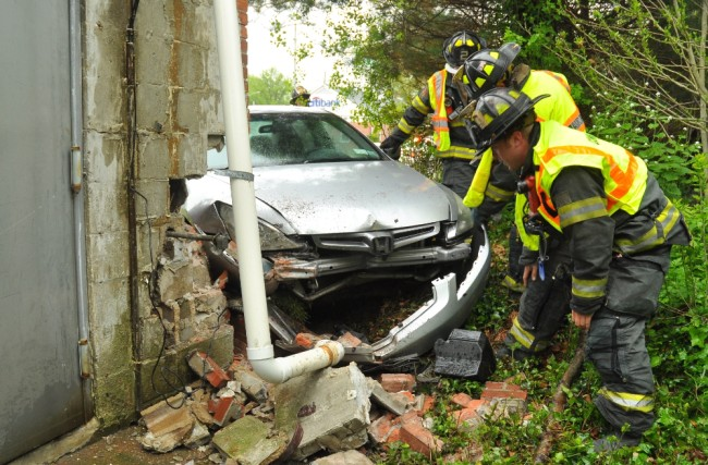 Larkfield Crash