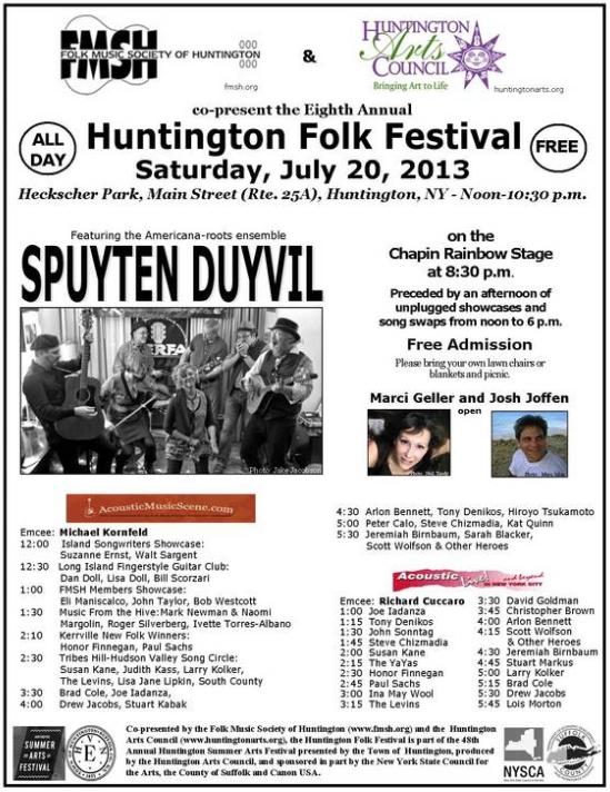 Folk Music Festival Poster