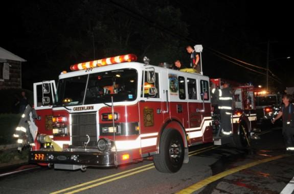 Greenlawn FD House Fire
