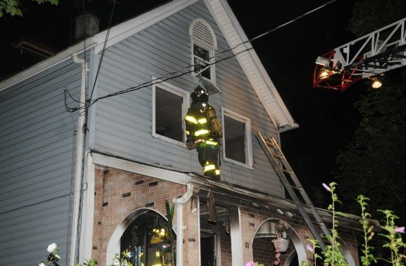 Columbia House Fire 2