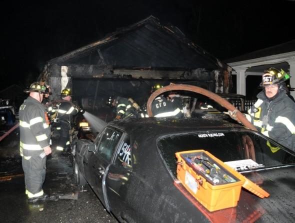 Greenlawn Garage Fire 2