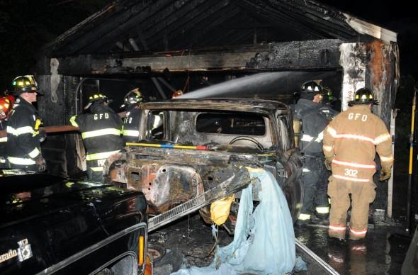 Greenlawn Garage Fire