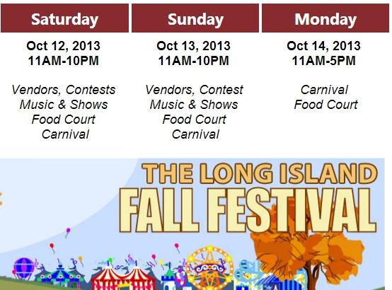 Long Island Fall Festival 2