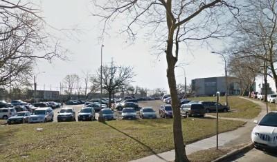 H.S. Parking Lot