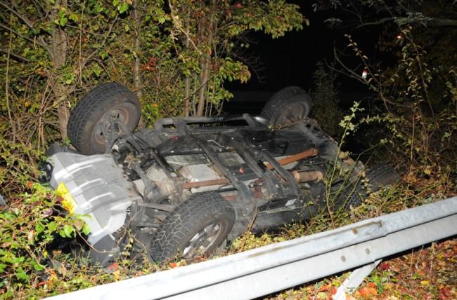 Service Road Crash
