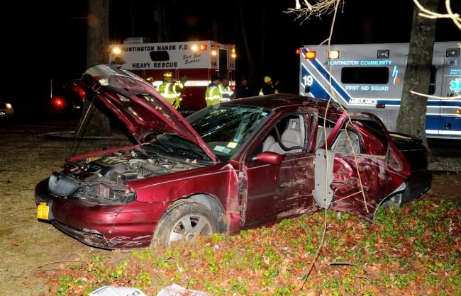 Dix Hills Road Crash 3