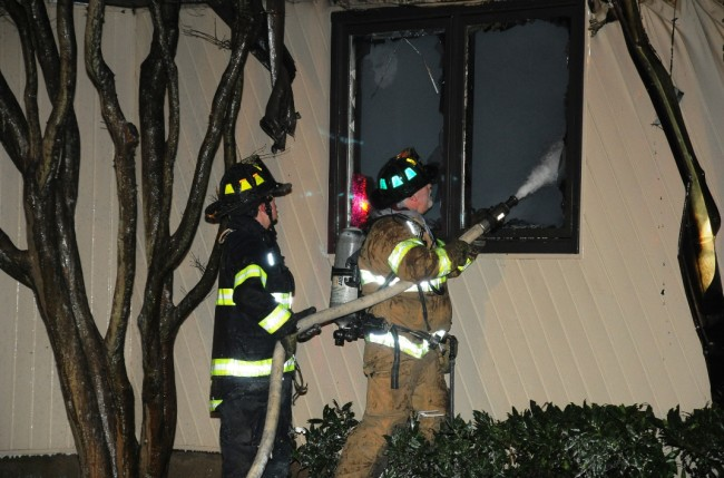 Melville House Fire 2