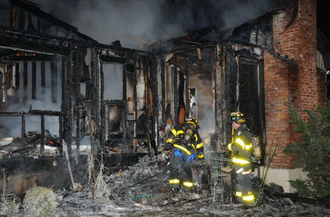 Melville House Fire 3