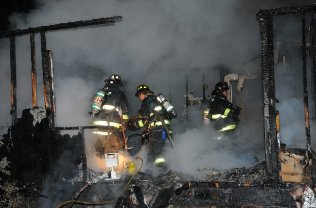 Melville House Fire 4