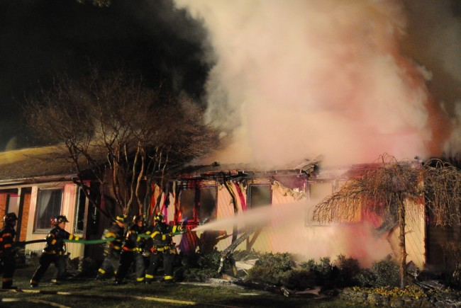 Melville House Fire
