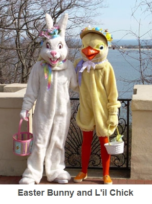 Easter Bunny & L'il Chick
