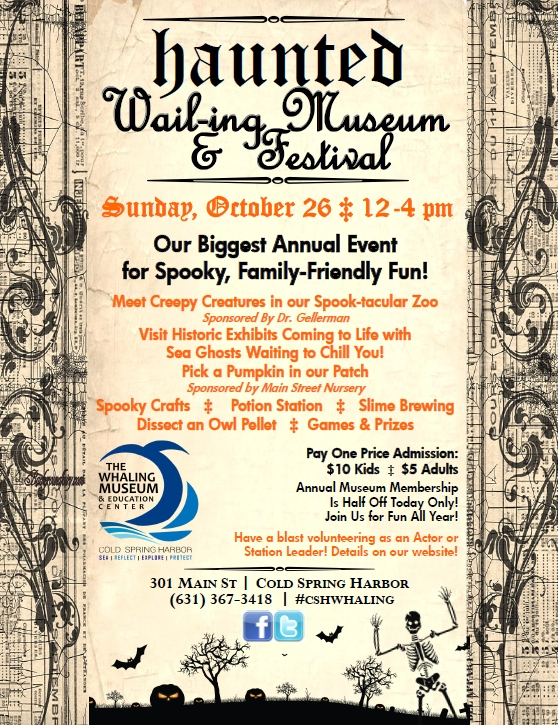 Halloween Whaling Museum