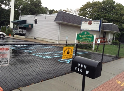 Councilman Eugene Cook With Local Businesses Pave Vfw Post