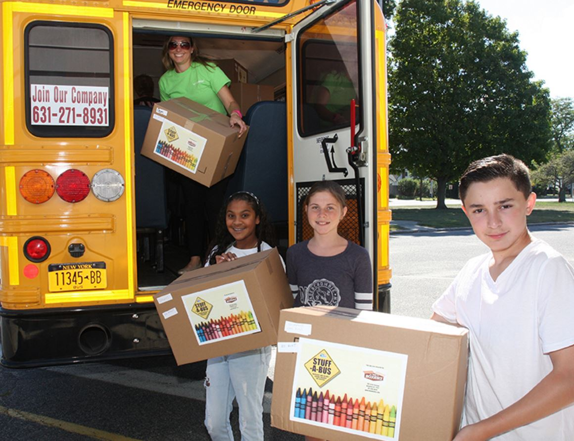 stuff a bus stops at stimson middle school in south huntington shsdstimson2
