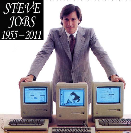 Steve showing off 1984