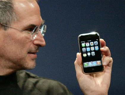 Steve and the iPhone