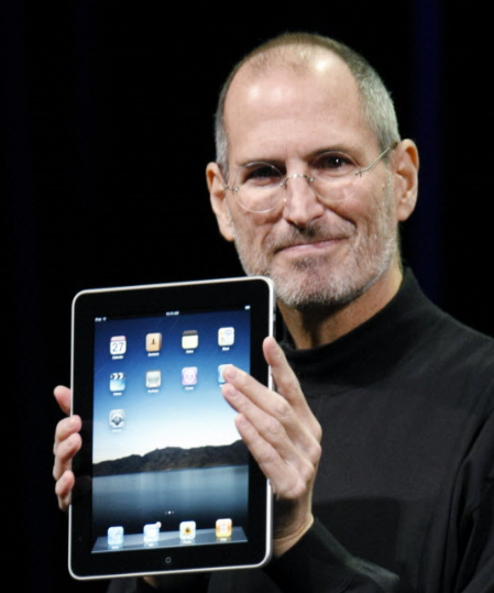 Steve and the 1st iPad