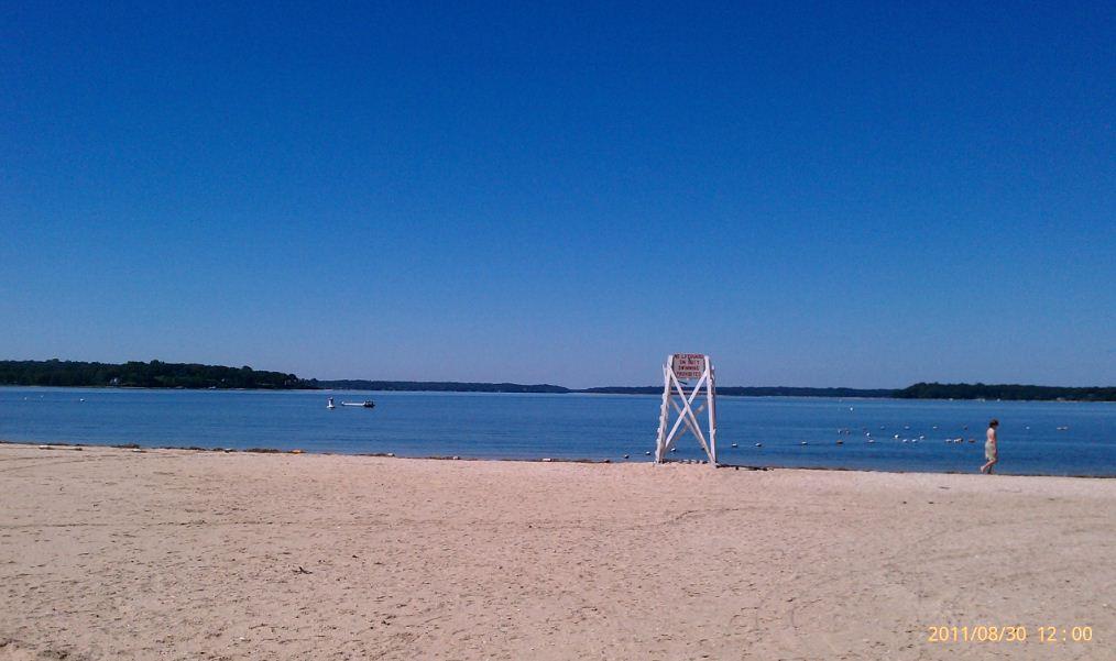 Asharoken beach all clear