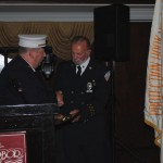 Hose Company #1 gives award to Douglas