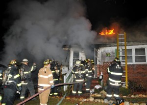 Greenlawn fire 1
