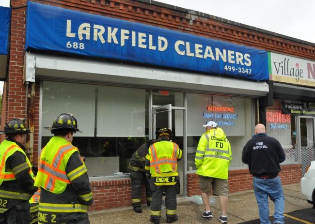 Larkfield Crash 2
