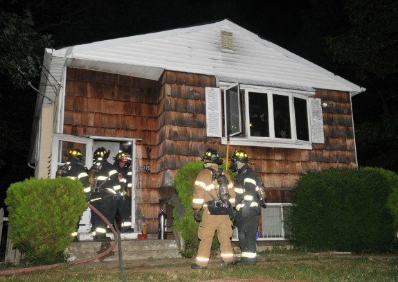 Greenlawn FD House Fire 3