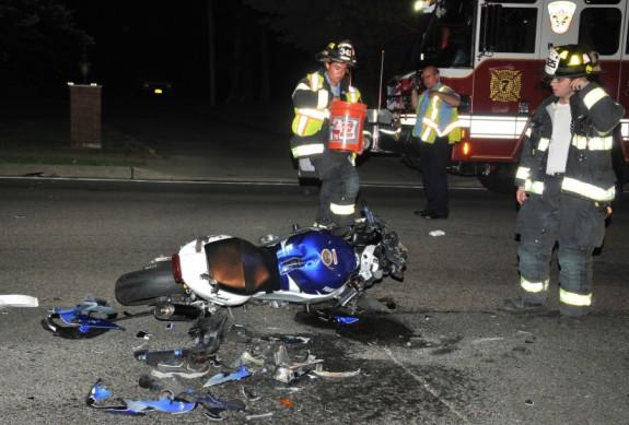 Motorcycle crash 3