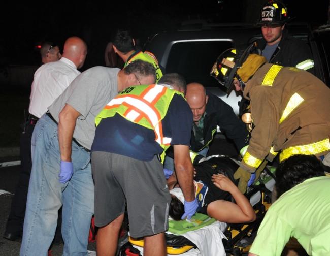 Wolf Hill Road Crash 2