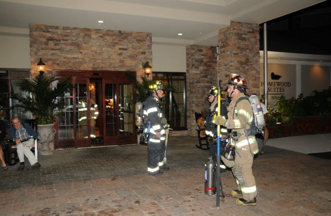 Fire at Homewood Suites 3