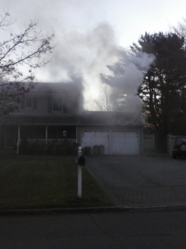 House Fire Lake Road