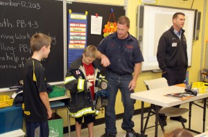 Career Day at Burr 3