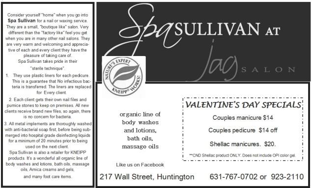 Spa Sullivan Ad