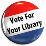 Library Vote Huntington NY,