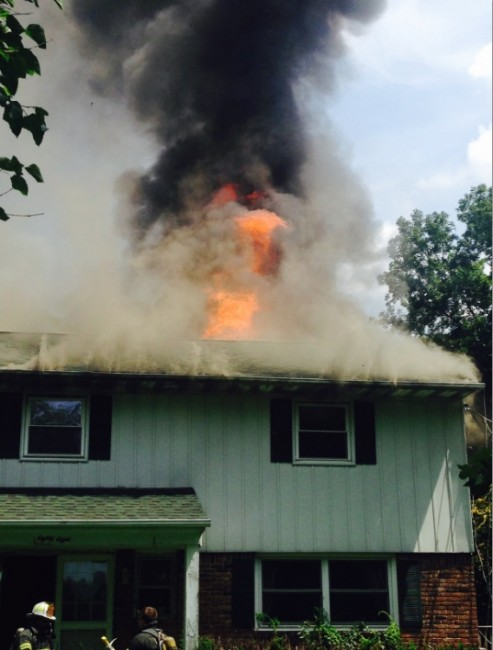 Greenlawn House Fire