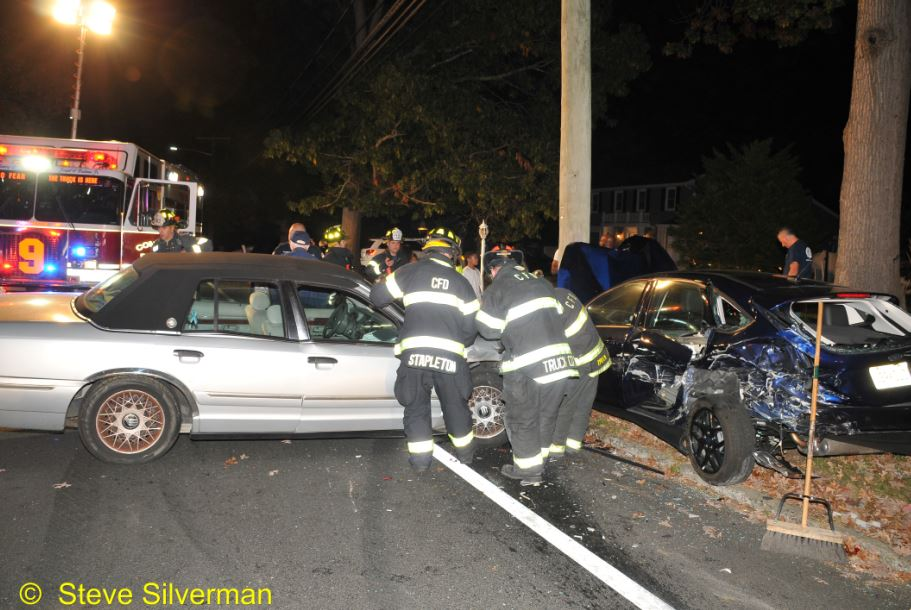 One Injured In Commack Car Crash The Huntingtonian