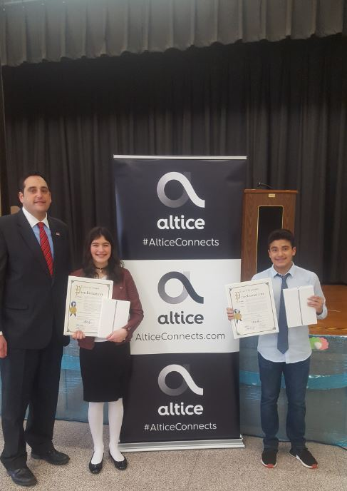 Examples Of A Proposal Essay  The Gifted Students Who Were Selected As Runners Up In An Hispanic  Heritage Month Student Essay Contest Sponsored By Cable Television Provider  Altice High School Application Essay Sample also High School Scholarship Essay Examples Supervisor Lupinacci Recognizes Hispanic Heritage Essay Contest  Compare And Contrast Essay Topics For High School Students